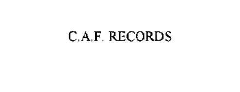 C.A.F. RECORDS