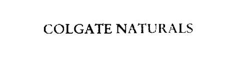 COLGATE NATURALS