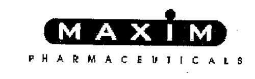 MAXIM PHARMACEUTICALS