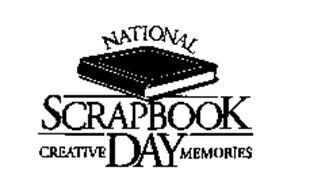 NATIONAL SCRAPBOOK DAY CREATIVE MEMORIES