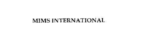 MIMS INTERNATIONAL