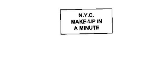 N.Y.C. MAKE-UP IN A MINUTE