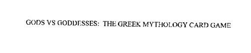 GODS VS GODDESSES: THE GREEK MYTHOLOGY CARD GAME