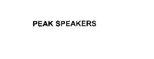 PEAK SPEAKERS