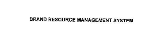 BRAND RESOURCE MANAGEMENT SYSTEM