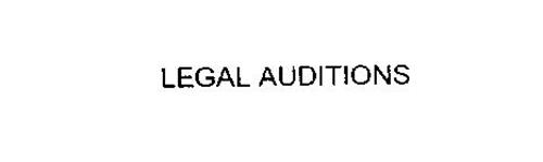LEGAL AUDITIONS