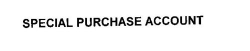 SPECIAL PURCHASE ACCOUNT