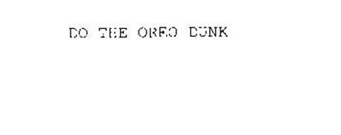 DO THE OREO DUNK