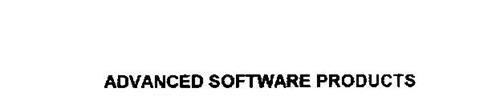 ADVANCED SOFTWARE PRODUCTS