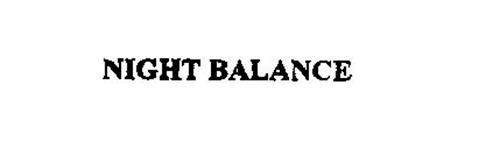NIGHT BALANCE