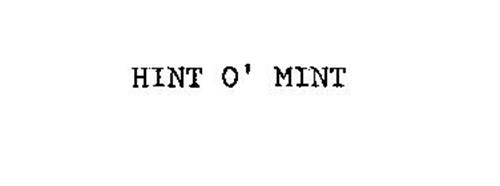 HINT O' MINT