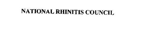 NATIONAL RHINITIS COUNCIL