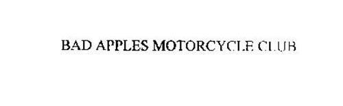 BAD APPLES MOTORCYCLE CLUB