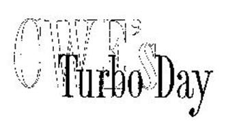CWE'S TURBO DAY