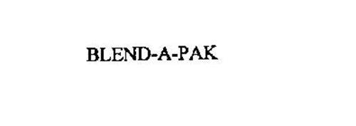 BLEND-A-PAK