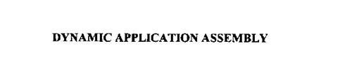 DYNAMIC APPLICATION ASSEMBLY
