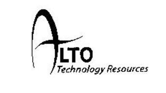 ALTO TECHNOLOGY RESOURCES