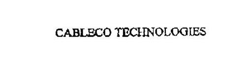 CABLECO TECHNOLOGIES
