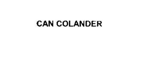 CAN COLANDER