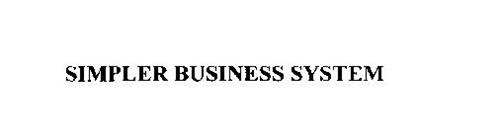 SIMPLER BUSINESS SYSTEM