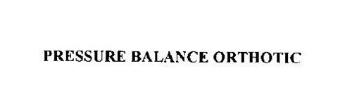 PRESSURE BALANCE ORTHOTIC