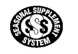 SSS SEASONAL SUPPLEMENT SYSTEM