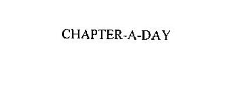 CHAPTER-A-DAY