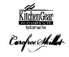 KITCHEN GEAR MAKING COOKING EASIER! BY AMERICAN PAN CAREFREE SKILLET