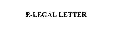 E-LEGAL LETTER
