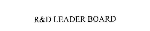 R&D LEADER BOARD