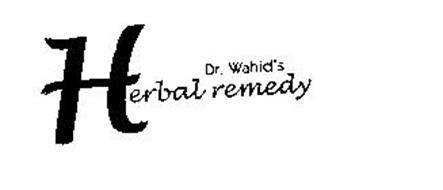 DR. WAHID'S HERBAL REMEDY