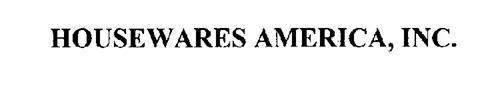 HOUSEWARES AMERICA, INC.