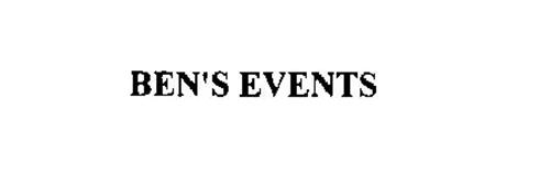 BEN'S EVENTS