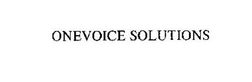 ONEVOICE SOLUTIONS