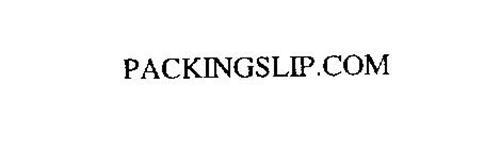 PACKINGSLIP.COM