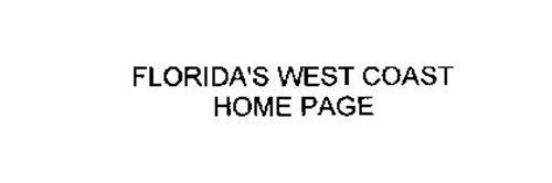 FLORIDA'S WEST COAST HOME PAGE