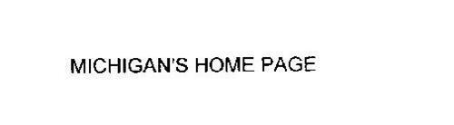 MICHIGAN'S HOME PAGE