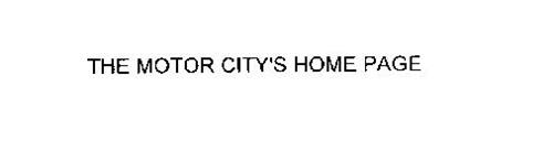 THE MOTOR CITY'S HOME PAGE