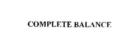 COMPLETE BALANCE