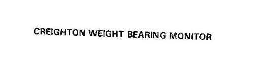 CREIGHTON WEIGHT BEARING MONITOR