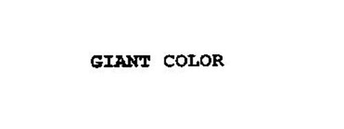 GIANT COLOR