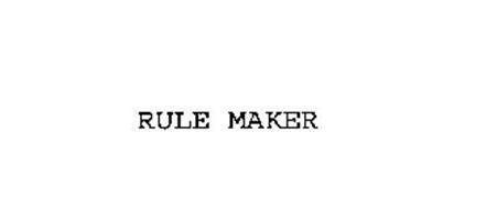 RULE MAKER