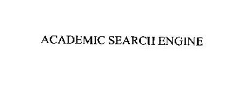ACADEMIC SEARCH ENGINE