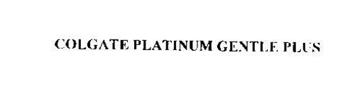 COLGATE PLATINUM GENTLE PLUS