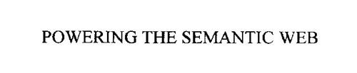 POWERING THE SEMANTIC WEB