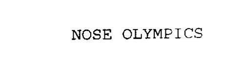 NOSE OLYMPICS