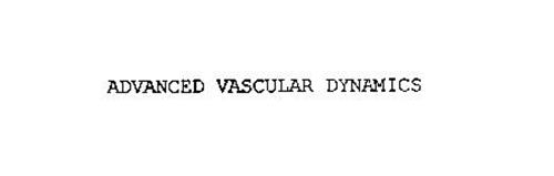 ADVANCED VASCULAR DYNAMICS