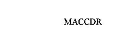 MACCDR
