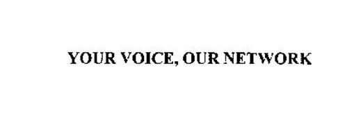 YOUR VOICE, OUR NETWORK