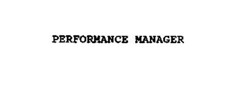 PERFORMANCE MANAGER
